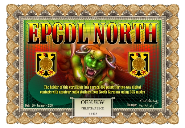 OE3UKW EPCDL NORTH