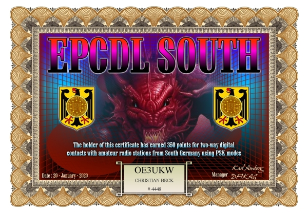 OE3UKW EPCDL SOUTH